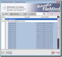 Metadata Scrubber