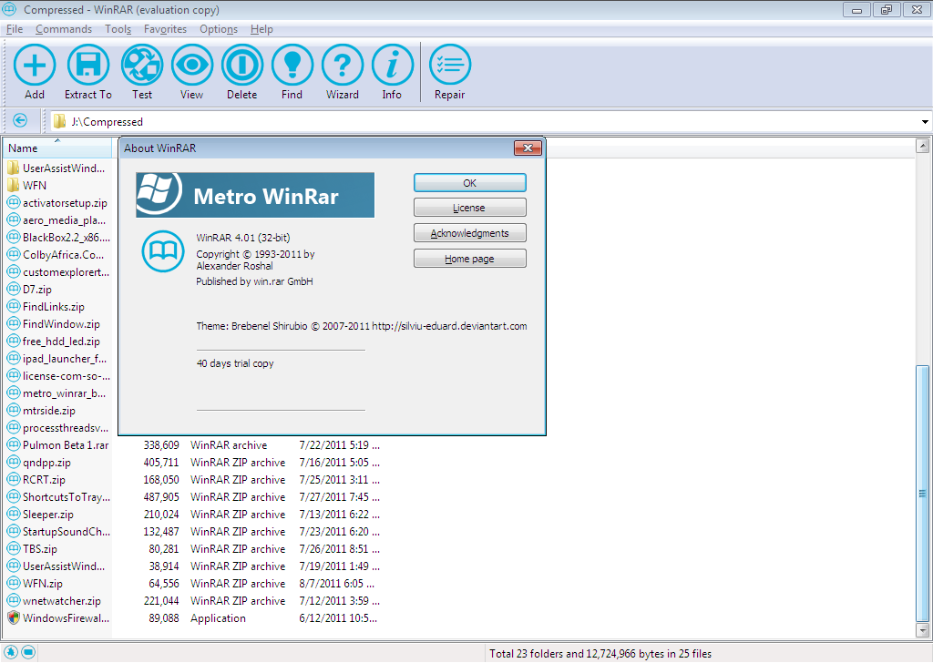 winrar archiver download windows 7