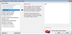 Tweaking.com Windows Repair Basic Mode