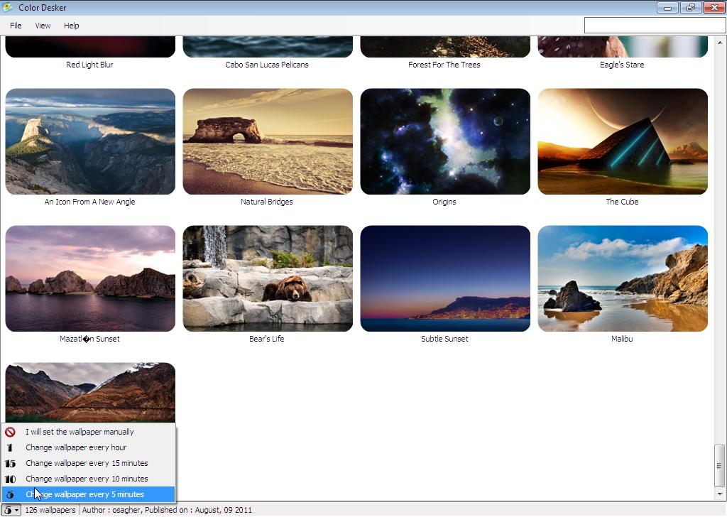 Magnificent Color Desker Is Smart Dynamic Desktop Wallpaper Changer Download Free Architecture Designs Scobabritishbridgeorg