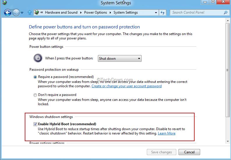 Get Windows 7 Classic Shutdown Behavior for Windows 8 by disabling
