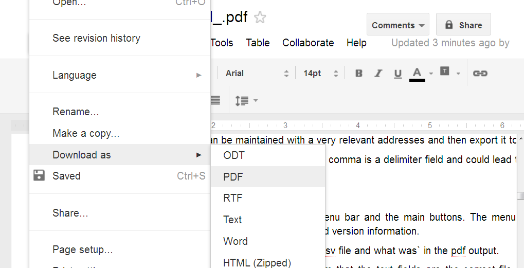 Translate pdf files word documents with google docs for Translate word documents google