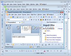 Kingsoft Office Free Suite 2012