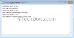 Logix Clipboard URL Monitor