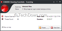 Malware Scanner thumb Comodo Cleaning Essentials, Portable Malware Scanner with KillSwitch Utility to remove Suspicious Processes