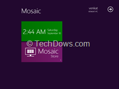 Mosaic Desktop thumb Mosaic Desktop Brings Windows 8 Metro UI to Windows 7 [Almost]