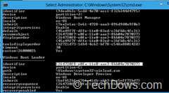 Windows 8 Boot Loader entry