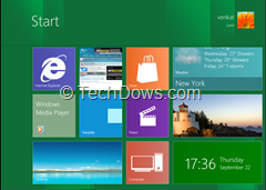 Windows 8 metro UI on windows 7 with immersive start background