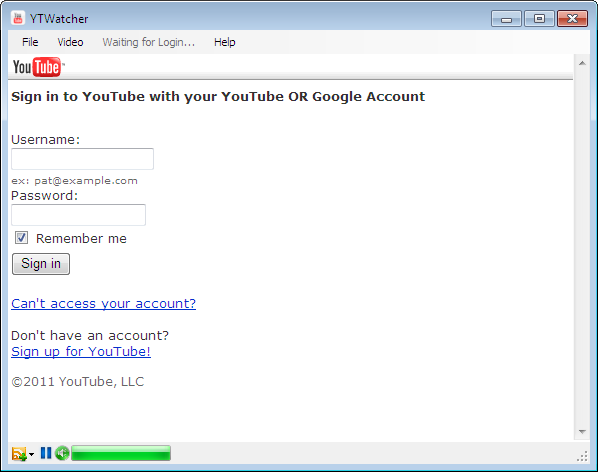 Watch YouTube Videos on Your Desktop with YTWatcher
