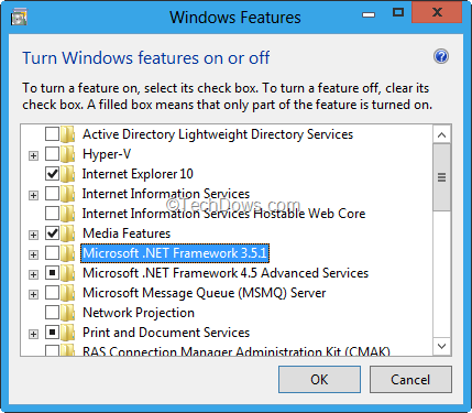 Enable .NET Framework 3.5.1 on Windows 8 Developer Preview to Run ...