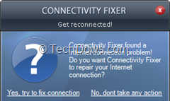 fix connection