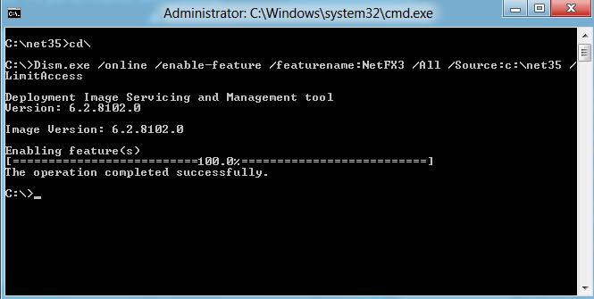 net enabled successfully - Tổng hợp về cài đặt và sử dụng Win8
