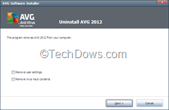 uninstalling AVG 2012 thumb Download AVG 2012 Removal Tool