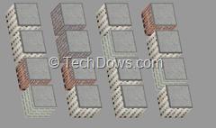 3D city, css 3D Firefox example