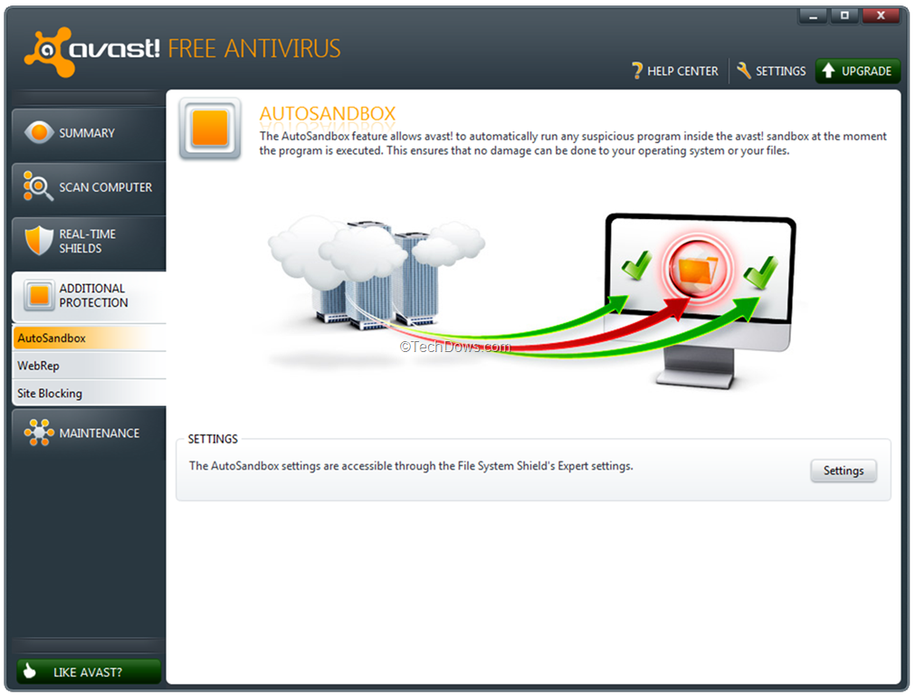 how do you disable avast