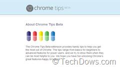 Chrome Tips Extenesion