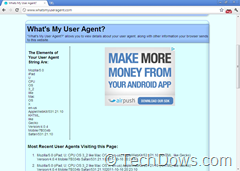 Chrome User Agent Spoofer