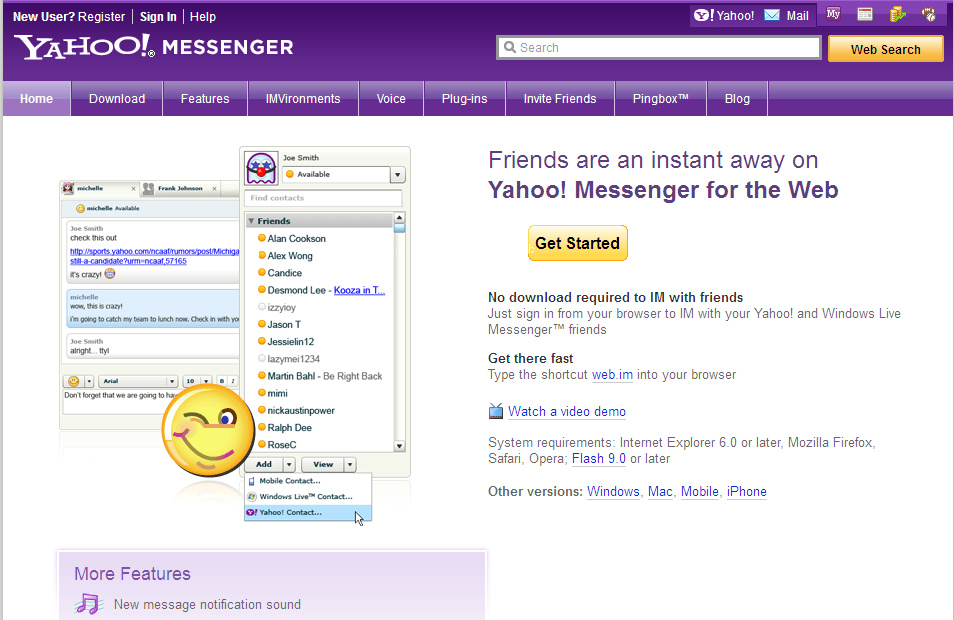 Yahoo Web Messenger to be Discontinued | Techdows