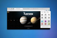 Firefox Settings button