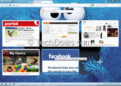 Opera with Monster Theme thumb Install & Uninstall Themes for Opera 12, Yep! Opera Gets Themes Support