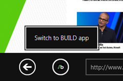 switch to metro app from associated web site in metro ie