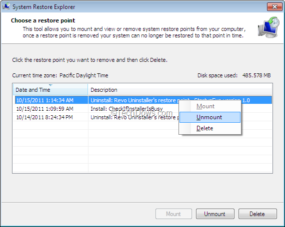 how to restore deleted emais in win 10 home
