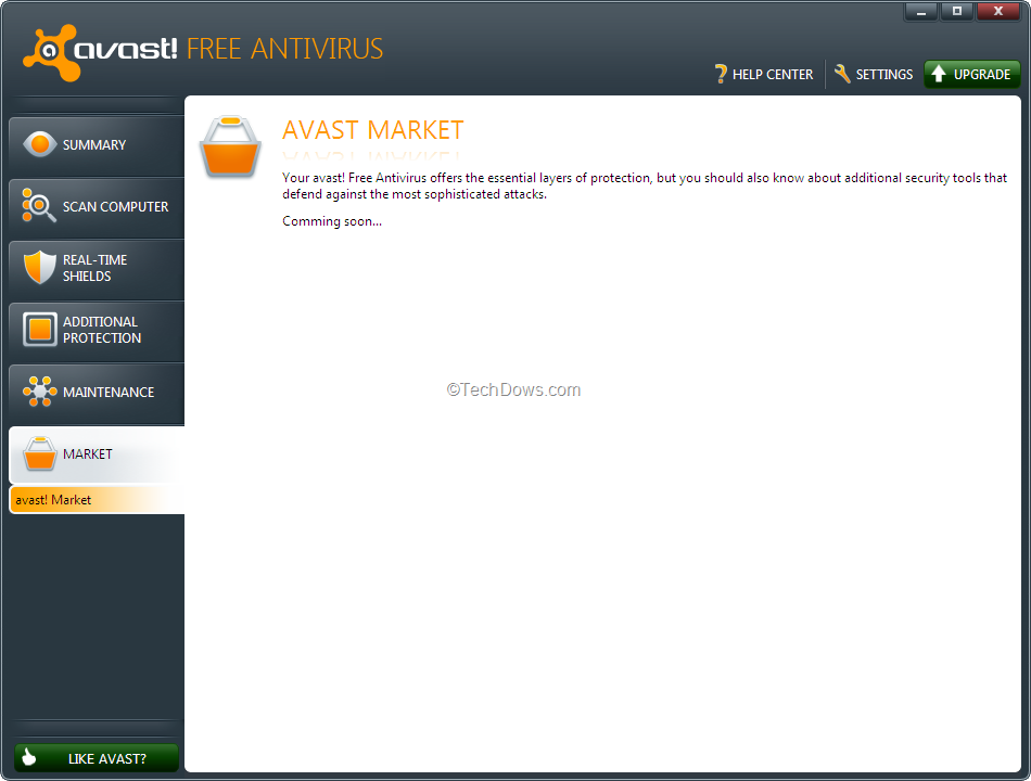 what is avast ui