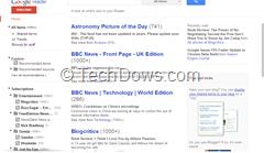 Google Reader after installing Chrome extension