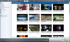 RealPlayer with Facebook Videos
