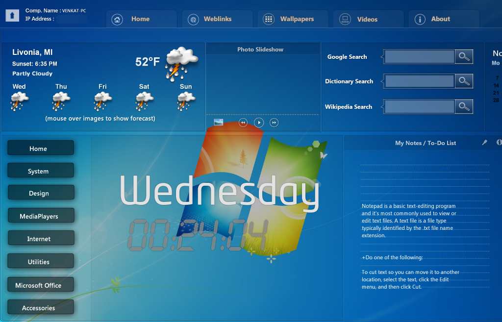 Enhance Your Desktop Looks With Smart Desktop
