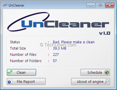 how to clean temp files windows