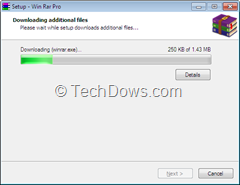 WinRAR Download Manager