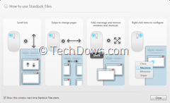 how to use Stardock Tiles