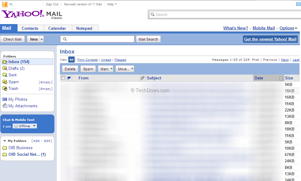 Want Old Yahoo Mail Back? Here is How to get it? [Updated]