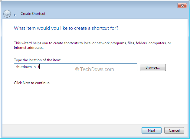 Force Windows 7 to Close Running Apps without Displaying