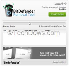 BitDefender Bootkit removal tool