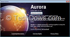 Firefox 11 Aurora