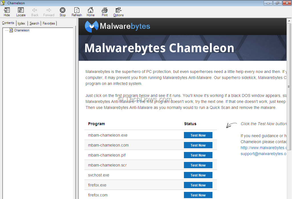 test malwarebytes chameleon thumb What is Malwarebytes Chameleon