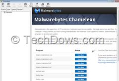 test malwarebytes chameleon