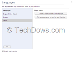 Display Chrome in this language thumb How to Change Language in Chrome from English to any Other Language