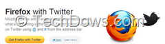 Firefox with Twitter