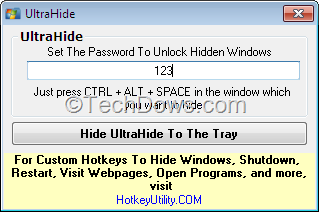 UltraHide: Hide Any Window on Your PC with a Hotkey