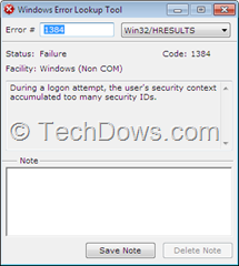 Windows Error Lookup Tool thumb Windows Error Lookup Tool Displays Description of  Windows Errors