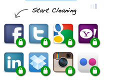 clean app permissions on social sites