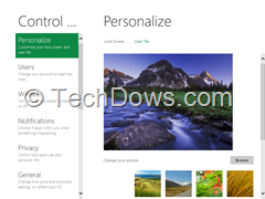 lock screen personalization thumb How to Change Lock Screen in Windows 8 with a Custom Image