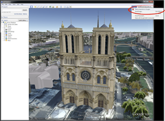 share Google Earth screenshot on Google plus thumb Google Earth 6.2 Released with a New Search Interface [Offline Installer]