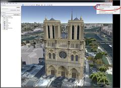 share Google Earth screenshot on Google plus