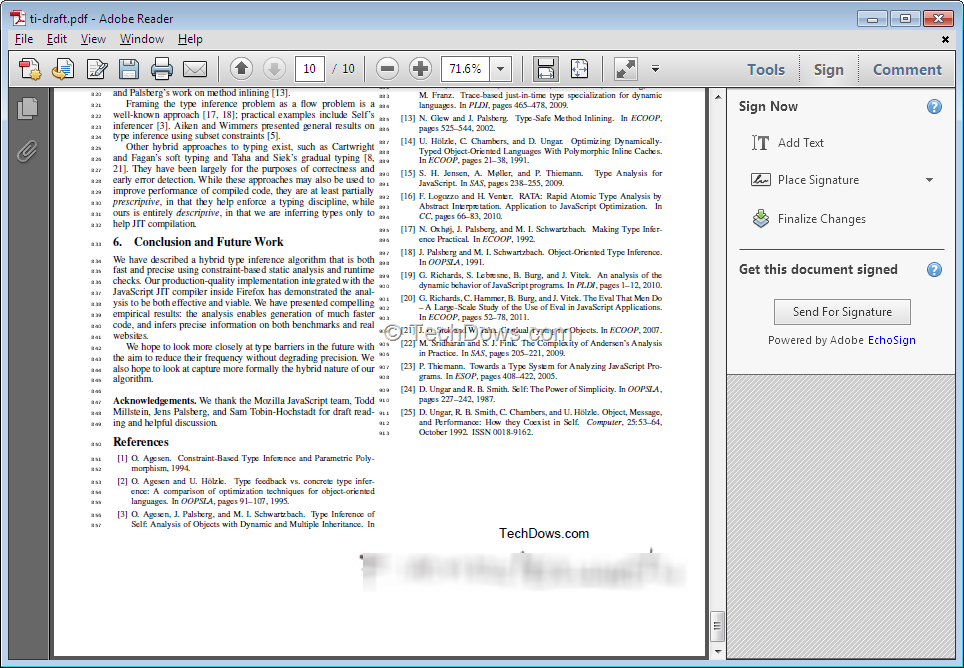 Adobe Reader Now Lets You Sign Your PDF Documents Easily