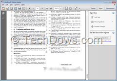 signed PDF in Adobe Reader