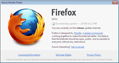 Downloading Firefox 10.0.2 update